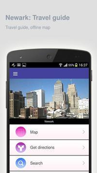 Newark: Offline travel guide apk screenshot