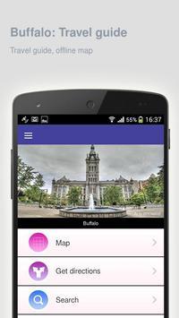 Buffalo: Offline travel guide apk screenshot