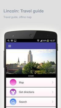 Lincoln: Offline travel guide apk screenshot