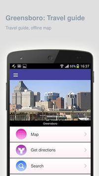 Greensboro: Travel guide apk screenshot