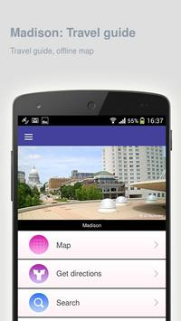 Madison: Offline travel guide apk screenshot