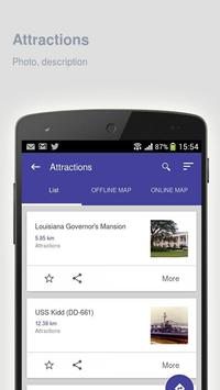 Baton Rouge: Travel guide apk screenshot