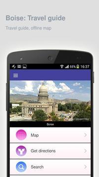 Boise: Offline travel guide poster