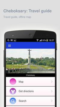 Cheboksary: Travel guide apk screenshot