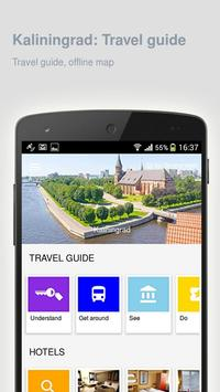 Kaliningrad: Travel guide poster