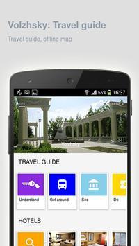Volzhsky: Offline travel guide poster