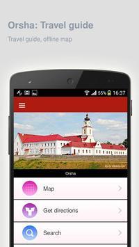 Orsha: Offline travel guide apk screenshot