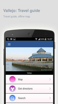 Vallejo: Offline travel guide apk screenshot