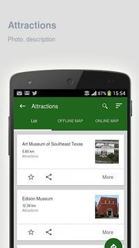 Beaumont: Offline travel guide apk screenshot