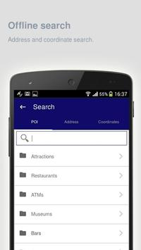 Erie: Offline travel guide apk screenshot