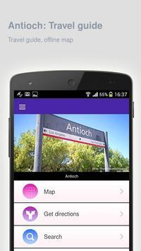Antioch: Offline travel guide poster