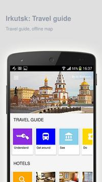 Irkutsk: Offline travel guide poster
