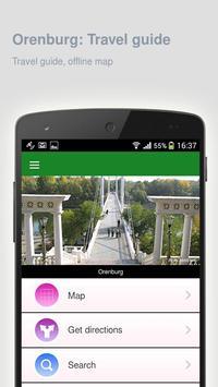 Orenburg: Offline travel guide apk screenshot