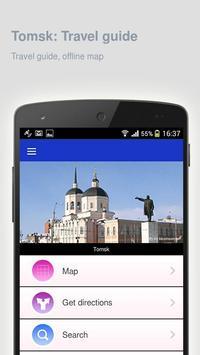 Tomsk: Offline travel guide poster