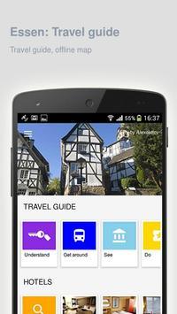 Essen: Offline travel guide poster