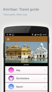 Amritsar: Offline travel guide poster
