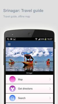 Srinagar: Offline travel guide poster