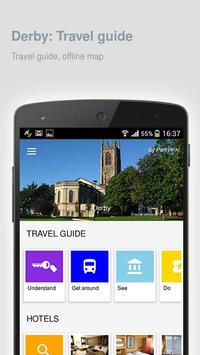 Derby: Offline travel guide poster