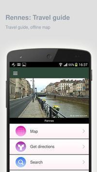 Rennes: Offline travel guide screenshot 4