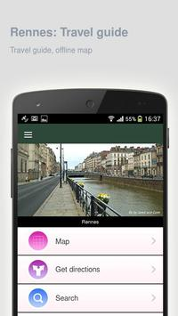 Rennes: Offline travel guide screenshot 8