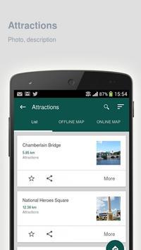 Bridgetown: Travel guide apk screenshot