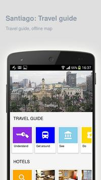 Santiago: Offline travel guide apk screenshot