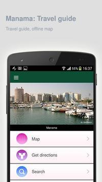 Manama: Offline travel guide apk screenshot