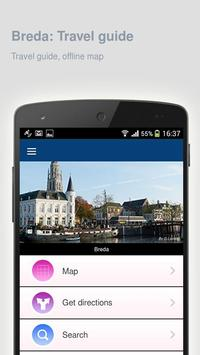Breda: Offline travel guide poster