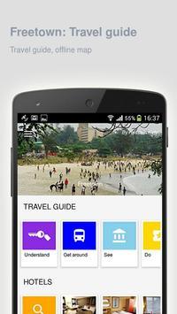 Freetown: Offline travel guide poster