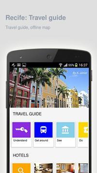 Recife: Offline travel guide poster
