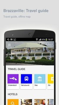 Brazzaville: Travel guide poster
