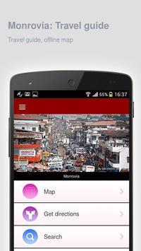Monrovia: Offline travel guide poster