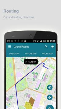 Grand Rapids Map offline screenshot 6