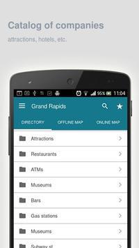 Grand Rapids Map offline apk screenshot