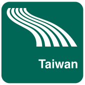Taiwan Map offline icon