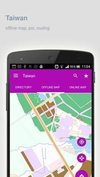 Taiwan Map offline apk screenshot