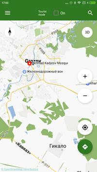 Grozny Map offline apk screenshot
