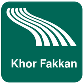 Khor Fakkan Map offline icon