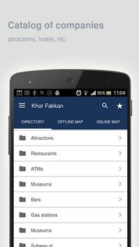Khor Fakkan Map offline apk screenshot