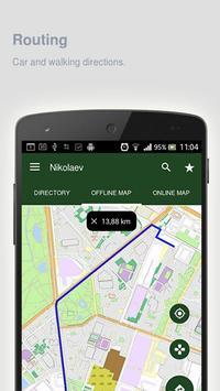 Nikolaev Map offline apk screenshot