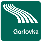 Gorlovka Map offline icon