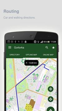 Gorlovka Map offline apk screenshot
