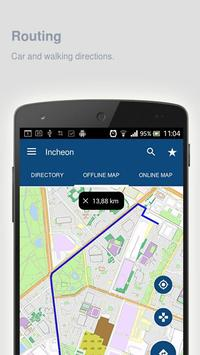 Incheon Map offline apk screenshot