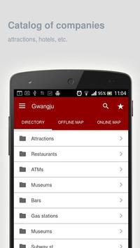 Gwangju Map offline apk screenshot