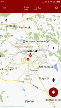 Smolensk Map offline apk screenshot
