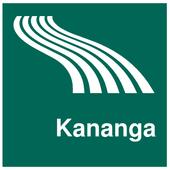 Kananga Map offline icon