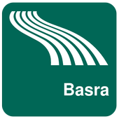 Basra Map offline icon