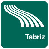 Tabriz Map offline icon