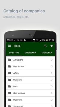 Tabriz Map offline apk screenshot