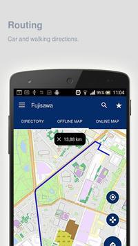 Fujisawa Map offline apk screenshot